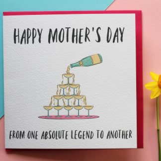 Mothers Day Card For A Legend