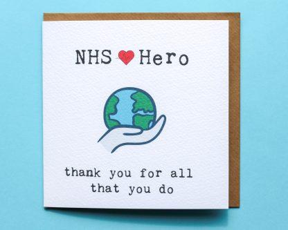 NHS Hero Lockdown Card Image