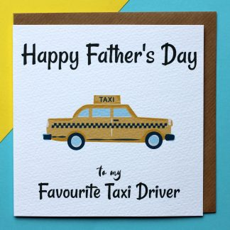 Fathers Day Favourite Taxi Driver
